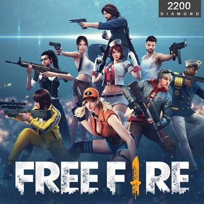 Free Fire 2200 Diamond (Direct Top Up)
