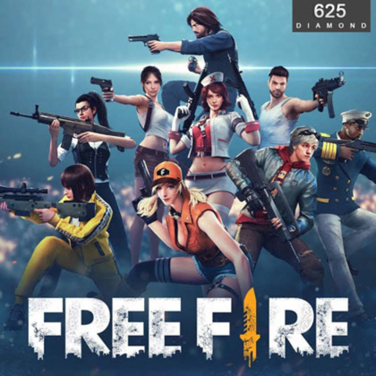 Free Fire 625 Diamonds Direct Top Up The Gamers Mall International