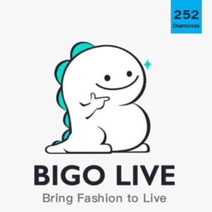 BIGO Live 252 Diamonds