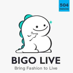BIGO Live 504 Diamonds (Direct Top up)