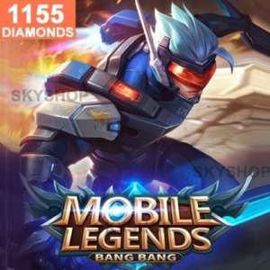 Mobile Legends 1155 Diamonds (Direct Top Up)