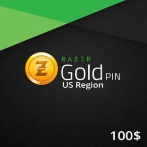 Razer Gold PIN US 100 USD Wholesale