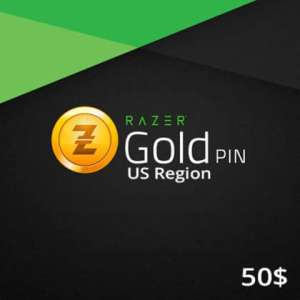 Razer Gold PIN US 50 USD Wholesale