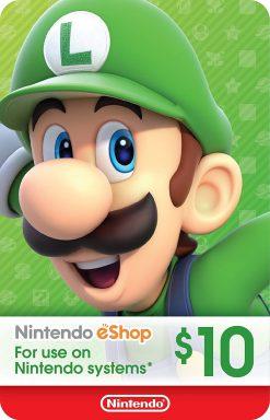 Nintendo eShop Gift Card 10$ (US)