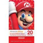 Nintendo eShop Gift Card 20$ (US)