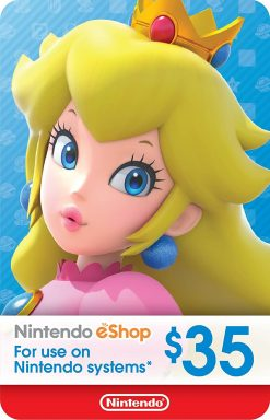 Nintendo eShop Gift Card 35$ (US)