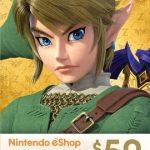 Nintendo eShop Gift Card 50$ (US)