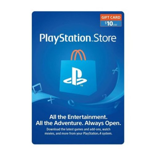 PlayStation 10$ Gift Cards